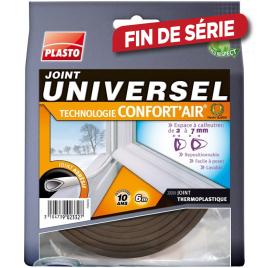Joint universel Confort'air marron 6 m PLASTO