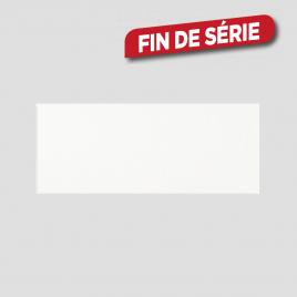Carrelage blanc brillant 40 x 25 cm