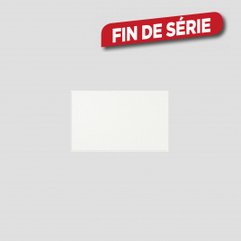 Carrelage blanc brillant 40 x 25 cm 14 pièces