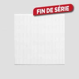 Carrelage blanc brillant 15 x 15 cm