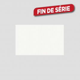 Carrelage mural blanc mat 50 x 20 cm 15 pièces
