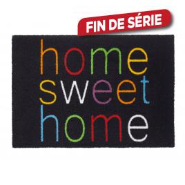 Paillasson anti dérapant Home Sweet Home 50 x 70 cm ADVOTEX
