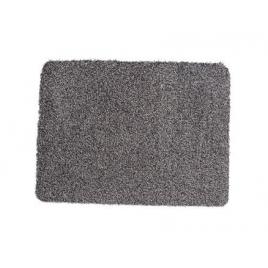 Paillasson en coton gris 40 x 60 cm ADVOTEX