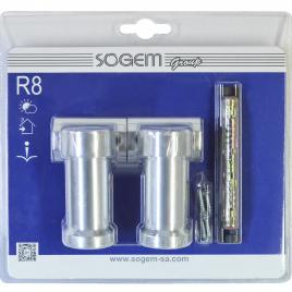 Support ajustable pour main courante Rondo R3 2 pièces SOGEM