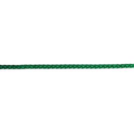 Corde tressée verte en polypropylène Ø 4 mm au mètre CHAPUIS
