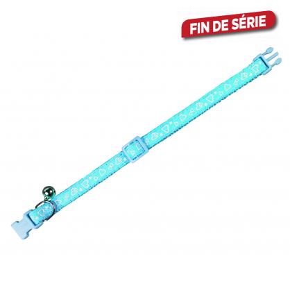 Collier pour chat 20 - 30 cm bleu