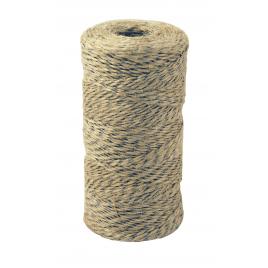 Ficelle en jute avec fil d'acier Ø 1 mm 190 m CHAPUIS