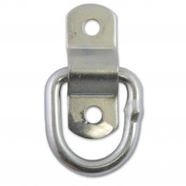 Anneau d'arrimage avec pivot pour fil Ø 6,4 mm 2 pièces