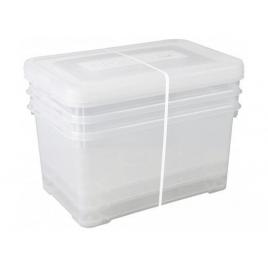 Box de rangement Handy Box 50 L 3 pièces