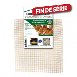 Grille de barbecue rectangulaire découpable