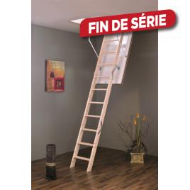 Escalier escamotable Isowood 120 x 60 cm SOGEM