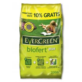 Engrais pour gazon Biofert Plus 200 + 20 m² EVERGREEN