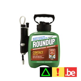Désherbant et antimousse Contact Pump 'N Go 2,5 L ROUNDUP