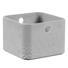 Box de rangement béton 2 L 17 x 17 x 12 cm KETER