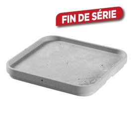 Couvercle pour box de rangement béton 17 x 17 x 1,8 cm KETER