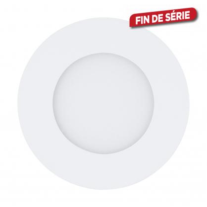 Spot encastrable blanc Fueva 1 LED Ø 8,5 cm 360 lm 2,7 W EGLO