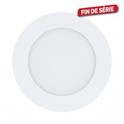 Spot encastrable blanc Fueva 1 LED Ø 12 cm 600 lm 5,5 W EGLO