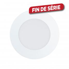 Spot encastrable blanc Fueva 1 LED Ø 12 cm 700 lm 5,5 W EGLO