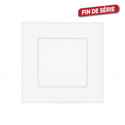 Spot encastrable blanc Fueva 1 LED 8,5 x 8,5 cm 2,7 W 360 lm EGLO
