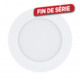 Spot encastrable blanc Fueva 1 LED Ø 12 cm 600 lm 5,5 W dimmable EGLO