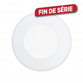 Spot encastrable étanche blanc Fueva 1 LED Ø 8,5 cm 300 lm 2,7 W EGLO