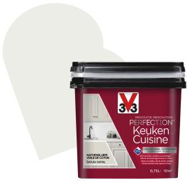 Peinture de rénovation pour cuisine Voile de Coton satin 0,75 L V33