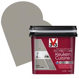 Peinture de rénovation pour cuisine Taupe satin 0,75 L V33