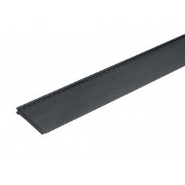 Lambris extérieur anthracite en PVC 240 x 18,5 x 0,6 cm 6 pièces DUMACLIN
