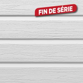 Lambris extérieur gris en PVC 240 x 17 x 0,6 cm 6 pièces DUMACLIN