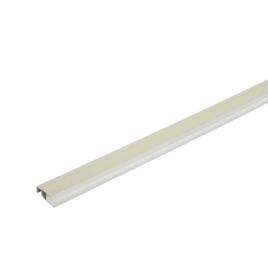 Profil de finition pour lambris extérieur gris crème DUMACLIN