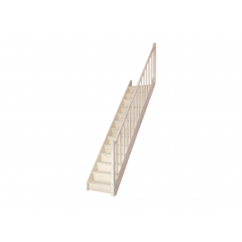 Escalier droit en bois Tradi Eco SOGEM