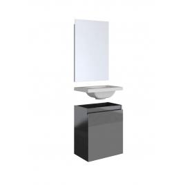Meuble lave-mains avec miroir Porto ALLIBERT