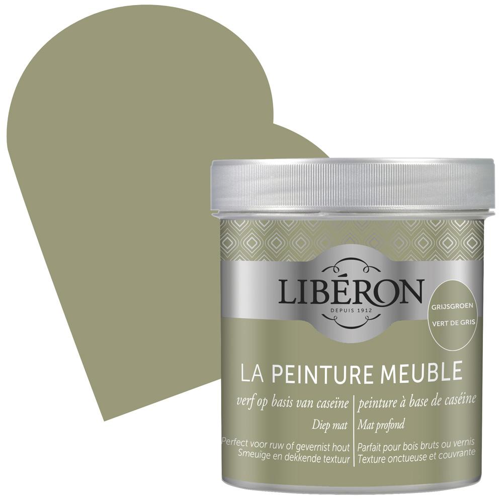 Peinture Pour Meubles A Base De Caseine Vert De Gris 0 5 L Liberon