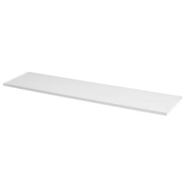 Tablette mélaminée blanche 80 x 30 x 1,8 cm CANDO