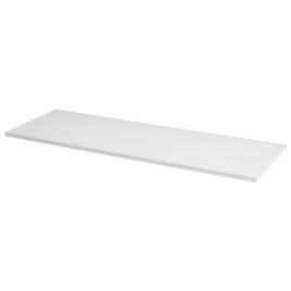 Tablette mélaminée blanche 80 x 40 x 1,8 cm CANDO