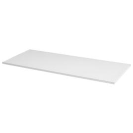 Tablette mélaminée blanche 80 x 50 x 1,8 cm CANDO