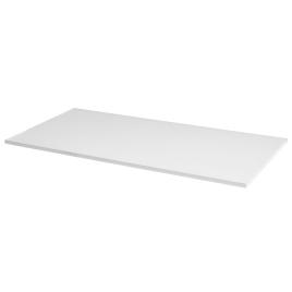 Tablette mélaminée blanche 80 x 60 x 1,8 cm CANDO