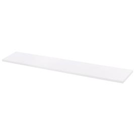 Tablette mélaminée blanche 120 x 20 x 1,8 cm CANDO