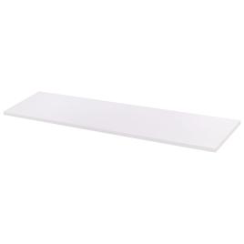 Tablette mélaminée blanche 120 x 30 x 1,8 cm CANDO