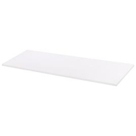 Tablette mélaminée blanche 120 x 40 x 1,8 cm CANDO