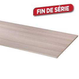 Panneau mélaminé Chêne Blanc 250 x 60 x 1,8 cm CANDO