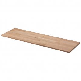 Panneau massif en chêne 100 x 30 x 1,8 cm CANDO