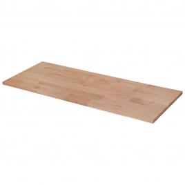 Panneau massif en chêne 100 x 40 x 1,8 cm CANDO