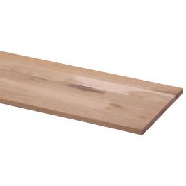 Panneau massif en chêne 200 x 30 x 1,8 cm CANDO