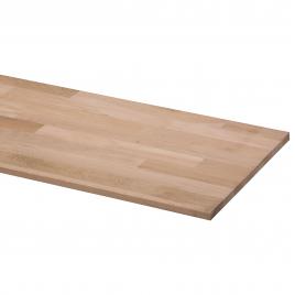 Panneau massif en chêne 200 x 40 x 1,8 cm CANDO