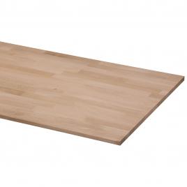 Panneau massif en chêne 200 x 60 x 1,8 cm CANDO