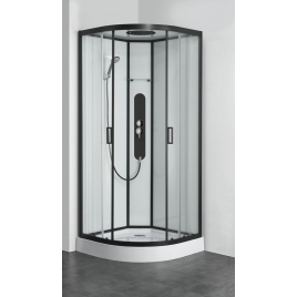Cabine de douche Uyuni 1/4 rond 90 x 90 x 22 cm ALLIBERT