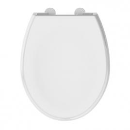Abattant de toilette Boreo blanc brillant ALLIBERT
