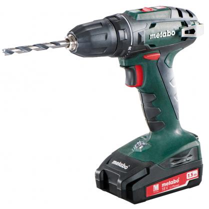Perceuse visseuse BS18 18 v 2 x 1,5 Ah METABO