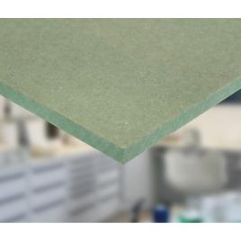 Panneau MDF hydrofuge vert 244 x 122 x 1,8 cm